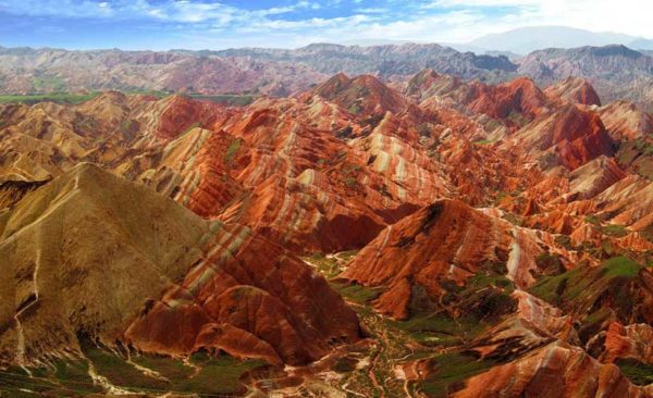 China-Ganzu-Danxia-National-Geological-Park-Zhangye