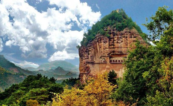China-Ganzu-Maiji-Mountain-Tianshui
