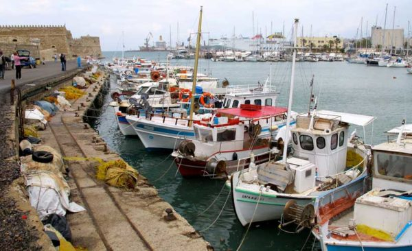 Crete-venetian-fortress-koules-and-harbour