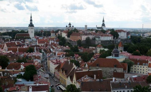 Estonia-tallinn-city-scape