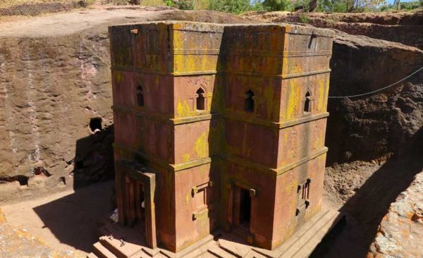 Ethiopia-Rock-hewn-church-Lalibela-church-of-saint-george