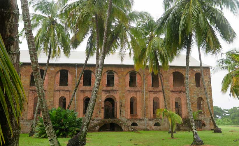 French Guiana old prison
