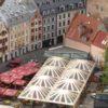 Latvia-Riga-town-square