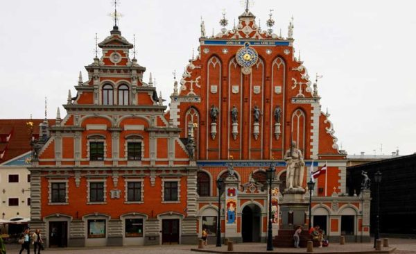 Latvia-Town-Hall-Square-Riga