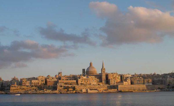 Malta-Valetta-harbour
