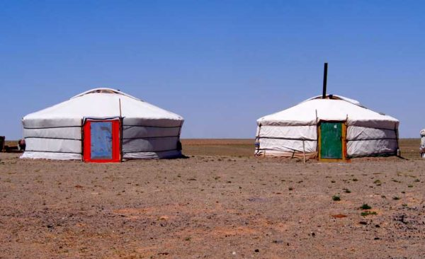 Mongolia-Ger-tents