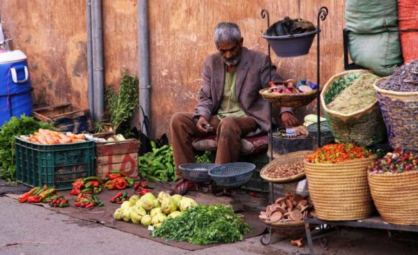 Morocco-market-stall