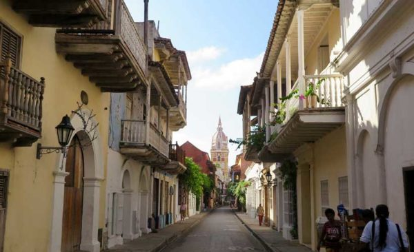 Street view of old quarter on your Panama tours