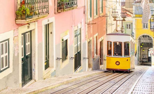 Portugal-Lisbon-streets-Funicular