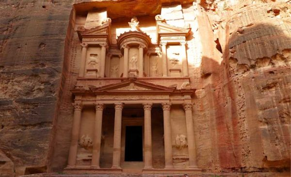 Ruins of Petra visited on our Israel tours