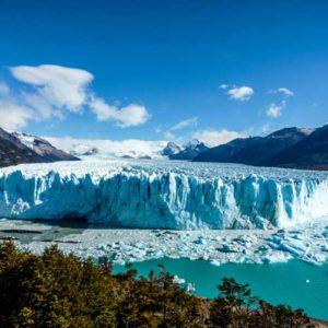 Argentina tour - Panorama of Moreno Glacier Argentina