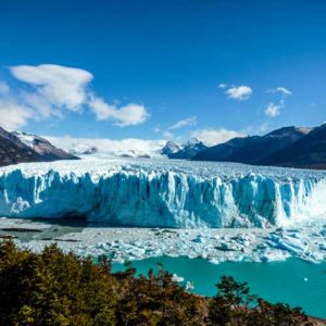 Panorama of Moreno Glacier Argentina