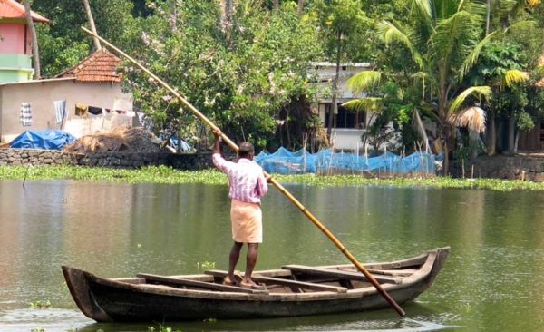 India-boating-by-bamboo-pole