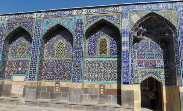 Iran-elaborate-tile-work
