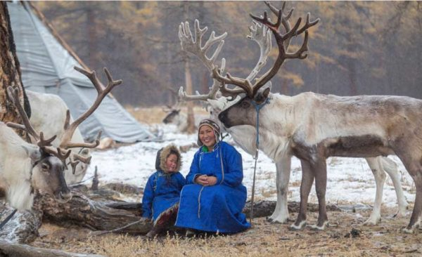 Mongolia-Reindeer-people
