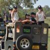 Safari jeep in Sri Lanka
