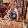 Uzbekistan-silk-carpet-workshop