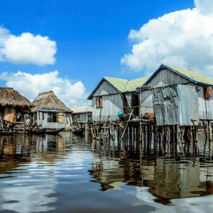 West Africa tours - Water village Ganvie Benin