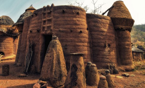 Togo-traditional-tata-somba-house