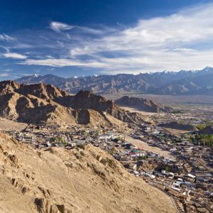 Ladakh-India-Panoramic-view-of-Leh