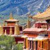 Sera-monastery-Lhasa,-Tibet