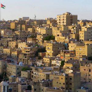 Amman Jordan city view