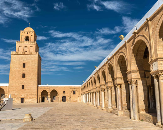 Great-Mosque-of-Kairouan-in-Tunisia