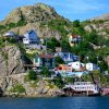 Colourful-houses-located-on-the-hill-Newfoundland