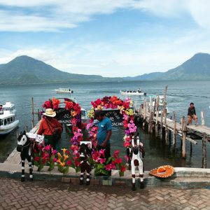 Jetty at Lake Atitlan Guatemala