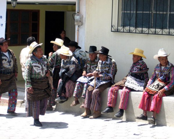 Men-in-regional-Guatemala-still-wear-traditional-clothes