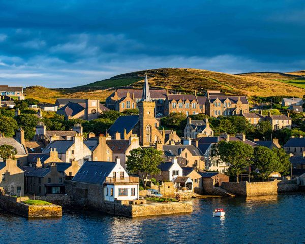 The port of Stromness in Orkney