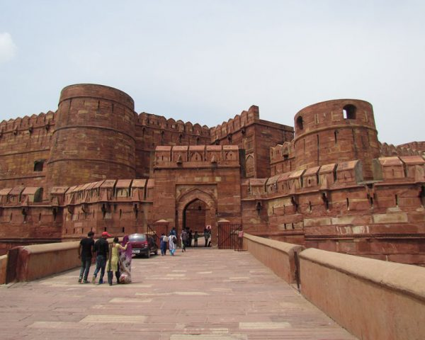 Agra-Fort-Ancient-India