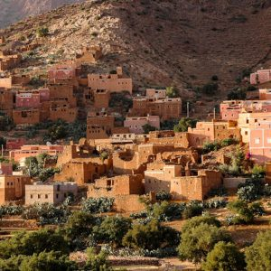 The famous ksar of Ait Ben Haddou in Morocco