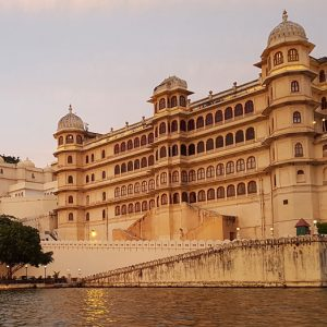 The City Palace in Udaipur India