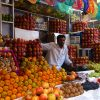 Fruit-on-display-Mysore-markets