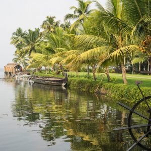 Waterway in Southern India