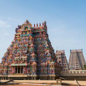 Tiruchirappalli hindu temple Southern India