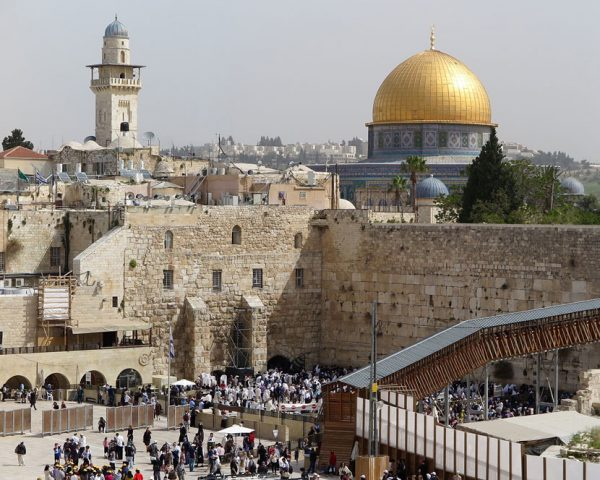 Jerusalem's Western Wall in Israel