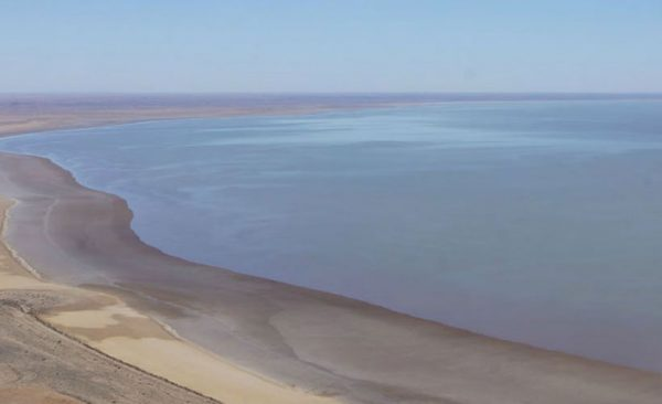 Lake Eyre by air