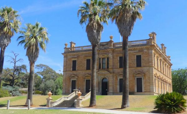 Martindale Hall, Clare valley, South Australia