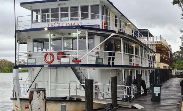 Proud Mary paddle steamer