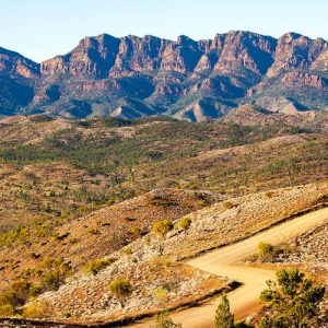 Flinders Ranges in South Australia