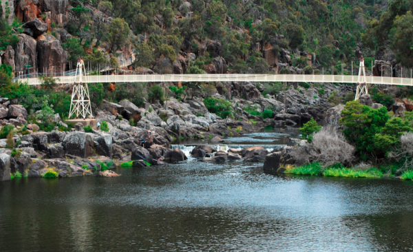 Cataract Gorge near Launceston
