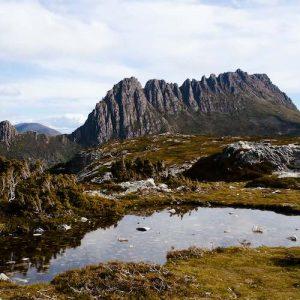 Cradle Mountain National in Tasmania