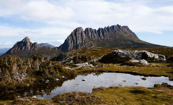 Cradle Mountain National in Tasmania
