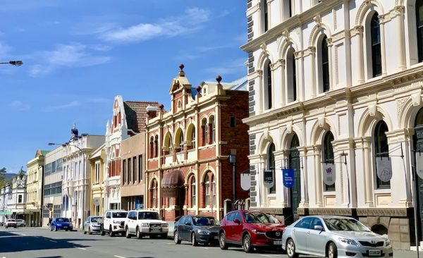 Launceston historic street scape