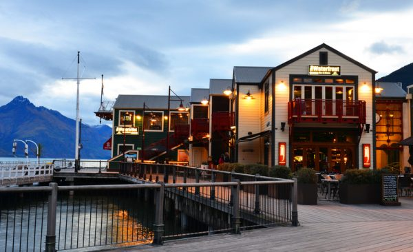 Waterfront at Queenstown, New Zealand