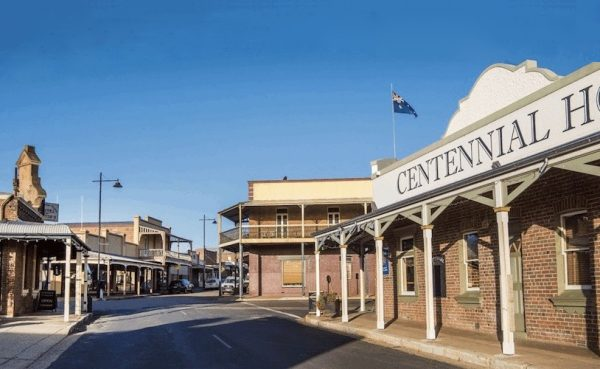 Streets of Gulgong near Mudgee